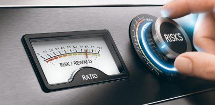 Measurement dial for risks and rewards