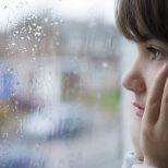 girl in child mediation consultation