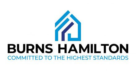 Logo for Burns Hamilton property management company