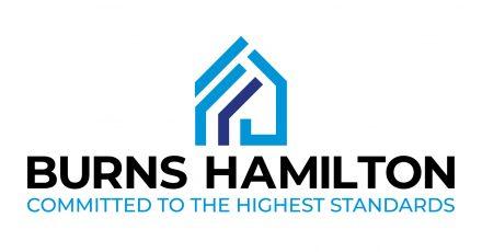 Logo for Burns Hamilton property management company