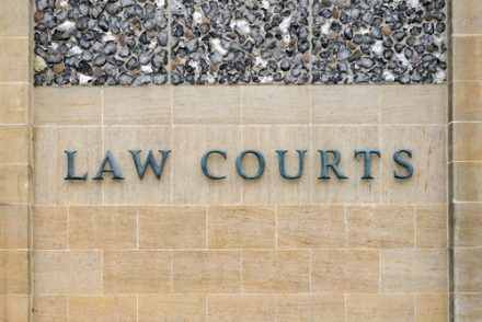 outside of a law court