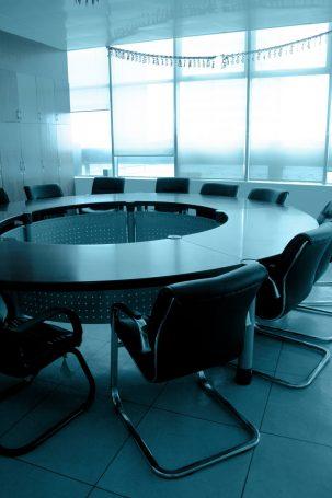 company boardroom table