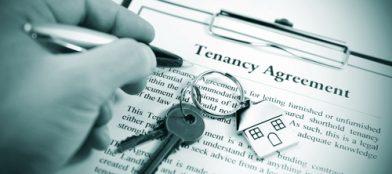 tenancy agreement and keys