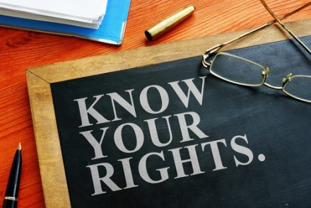 Know your Rights wording