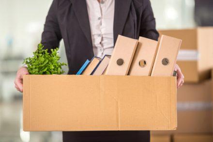 employee leaving office