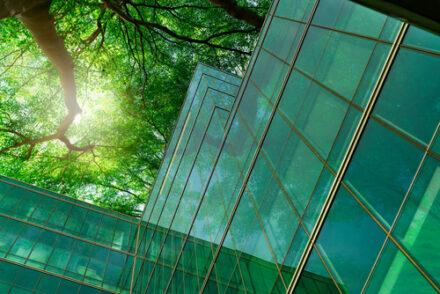 Ecofriendly commercial building